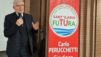 Photo of Carlo Perucchetti domenica 31 marzo nelle piazze di Calerno
