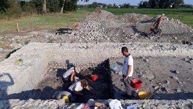 """Photo of Gli scavi di Tannetum sulla rivista """"Archeo"""""""