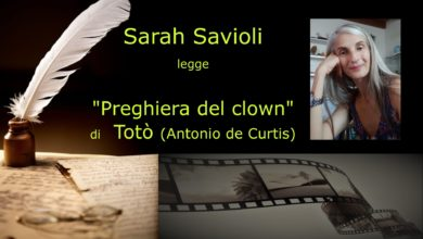 Photo of L'angolo della video poesia: Sarah Savioli legge Totò (Antonio de Curtis)