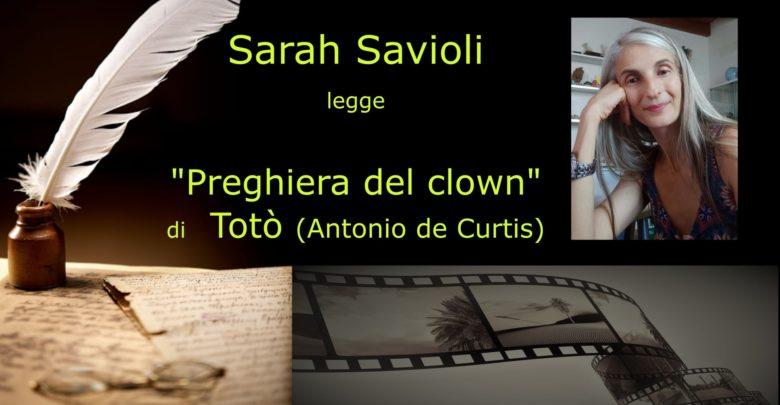 Photo of L'angolo della video poesia: Sarah Savioli legge Totò (Antonio de Curtis)