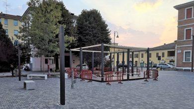 Photo of Al via i lavori per il nuovo chiosco fra Piazza Repubblica e Piazza IV Novembre