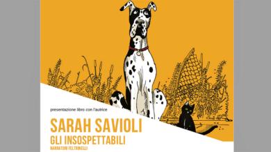 """Photo of """"Gli insospettabili"""", presentazione del romanzo di Sarah Savioli lunedì 7 settembre al Mavarta"""