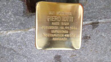 Photo of Nel Giorno della Memoria la città di Parma ha dedicato una pietra d'inciampo a Piero Iotti