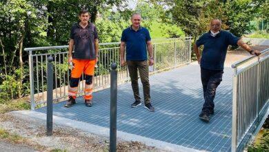 Photo of Montato il nuovo ponte sul canale San Rocco